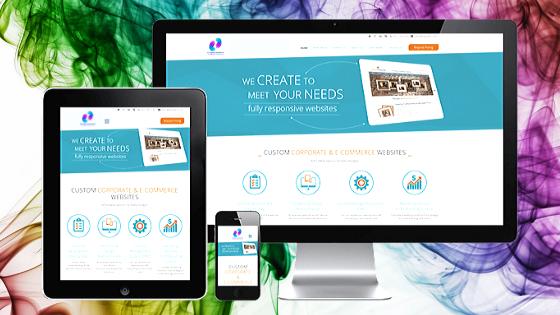 SP Digital Consultants 5 page website