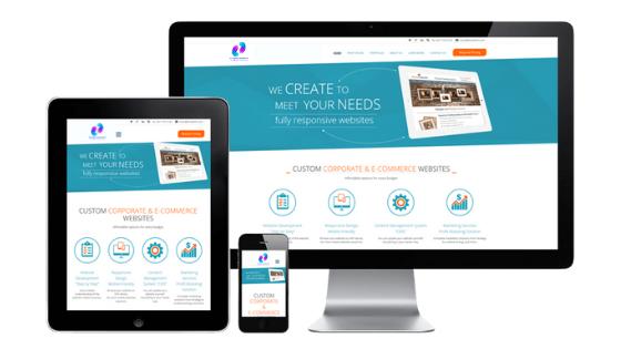 sp digital consultants fully responsive websites design and hosting 3 page website