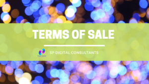 sp digital consultants terms of sale policy